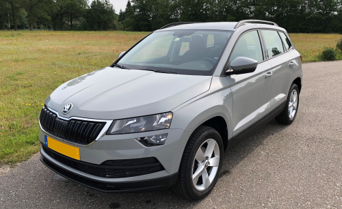 skoda karoq suv 1 6 tdi dsg ambition business leasen